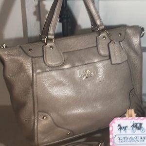 Coach ~ Gold Pebble Leather ~ Like NEW handbag